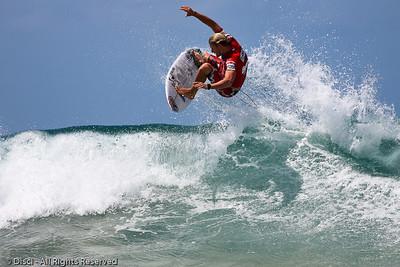 Bede Durbidge - Burleigh Heads Surfing Photos - Breaka Burleigh Surf Pro, 20 February 2010
