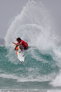 Taj Burrow - Quiksilver Pro, Snapper Rocks, 27 February 2010.