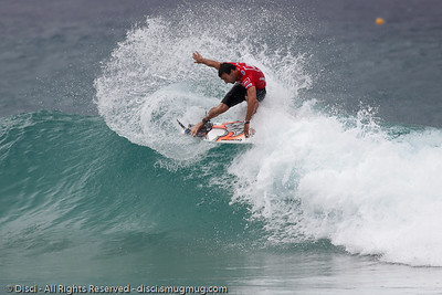 Joel Parkinson - Quiksilver Pro, Snapper Rocks, 27 February 2010.