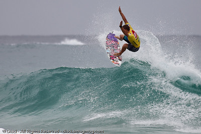 """Quiksilver Pro Surfing, Snapper Rocks - """"Best of Saturday""""; Gold Coast, Queensland, Australia; 27 February 2010. Photos by Des Thureson."""