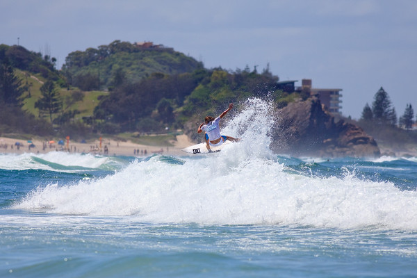 Jayke Sharpe - 2011 Breaka Burleigh Surf Pro - Surfing - Burleigh Heads, Gold Coast. Saturday 19 February 2011. Photos by Des Thureson.