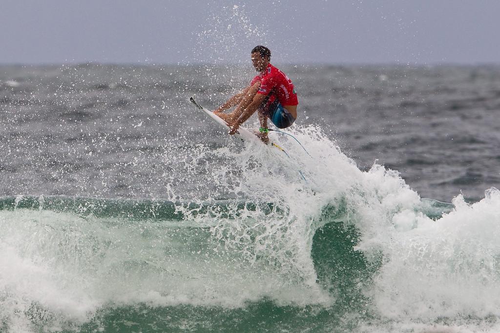 Jordy Smith - 2012 Quiksilver Pro Surfing Semi Finals - final day; Snapper Rocks, Coolangatta, Gold Coast, Queensland, Australia; 04 March 2012. Photos by Des Thureson - disci.smugmug.com.