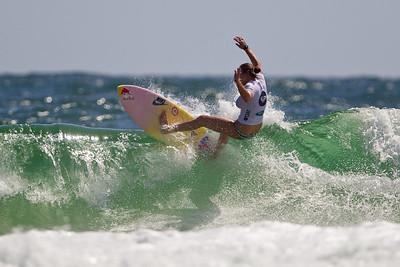 2011 ASP World Champion Carissa Moore - Roxy Pro Women's Surfing; Snapper Rocks, Coolangatta, Gold Coast, Queensland, Australia; 28 February 2012. Photos by Des Thureson - disci.smugmug.com. Round 4, Heat 1.