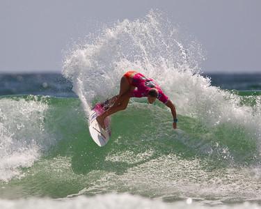 Roxy Pro Women's Surfing; Snapper Rocks, Coolangatta, Gold Coast, Queensland, Australia; 28 February 2012. Photos by Des Thureson - disci.smugmug.com.  Paige Hareb. Round 4, Heat 2.