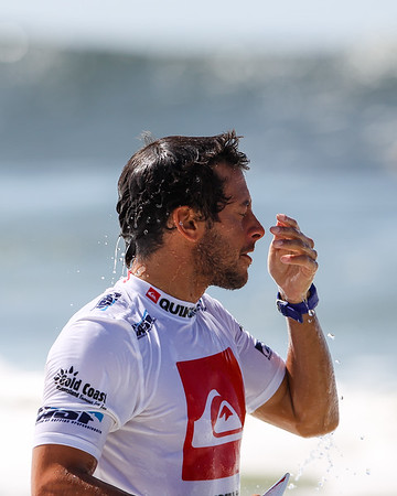 Jeremy Flores - 2013 Quiksilver Pro Surfing; Snapper Rocks, Coolangatta, Gold Coast, Queensland, Australia; 11 March 2013. Photos by Des Thureson - disci.smugmug.com.