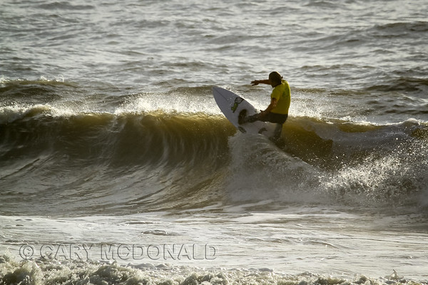 Icebox Open - Surfing contest  Folly Beach Washout