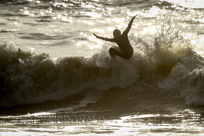 Icebox Open - Surfing Surfing contest  Folly Beach Washout
