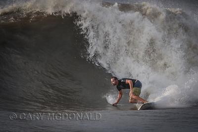 Big wave at Folly Beach