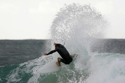 Surfing Snapper Rocks, 12 May 2007