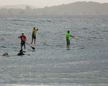 Surfing Snapper Rocks Superbank, Coolangatta, Gold Coast, Queensland, Australia; 12 May 2007. Photos by Des Thureson.