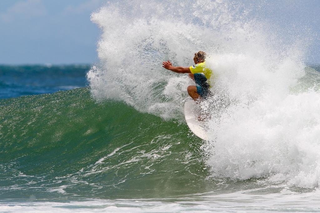 "Carl Wright - Breaka Burleigh Surf Pro - Surfing; Burleigh Heads, Gold Coast, Queensland, Australia. ASP 4 Star World Tour Event. Thursday 9 February 2012. Photos by Des Thureson: <a href=""http://disci.smugmug.com"">http://disci.smugmug.com</a>"