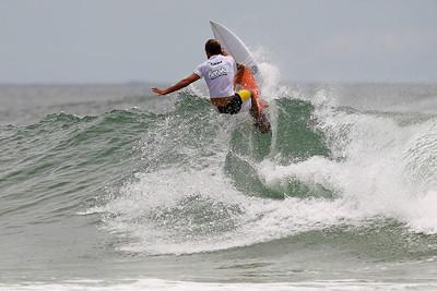 Luke Archibald - Breaka Burleigh Surf Pro - Surfing; Burleigh Heads, Gold Coast, Queensland, Australia. Wednesday 8 February 2012. Photos by Des Thureson: http://disci.smugmug.com