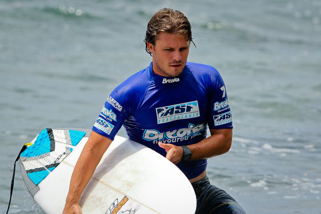 "Nick Vasicek - Breaka Burleigh Surf Pro - Surfing; Burleigh Heads, Gold Coast, Queensland, Australia. ASP 4 Star World Tour Event. Saturday 11 February 2012. Photos by Des Thureson: <a href=""http://disci.smugmug.com"">http://disci.smugmug.com</a>"