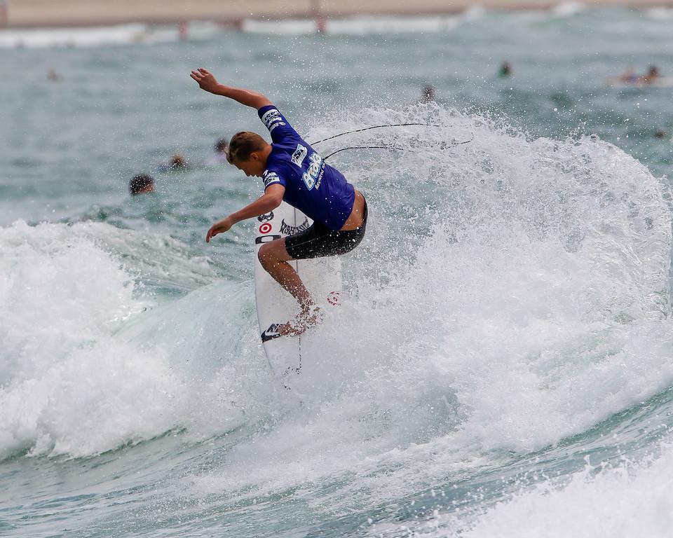 """Kolohe Andino - Breaka Burleigh Surf Pro - Surfing; Burleigh Heads, Gold Coast, Queensland, Australia. ASP 4 Star World Tour Event. Saturday 11 February 2012. Photos by Des Thureson: <a href=""""http://disci.smugmug.com"""">http://disci.smugmug.com</a>"""