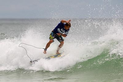 Brenton Mazey - Breaka Burleigh Surf Pro - Surfing; Burleigh Heads, Gold Coast, Queensland, Australia. Wednesday 8 February 2012. Photos by Des Thureson: http://disci.smugmug.com