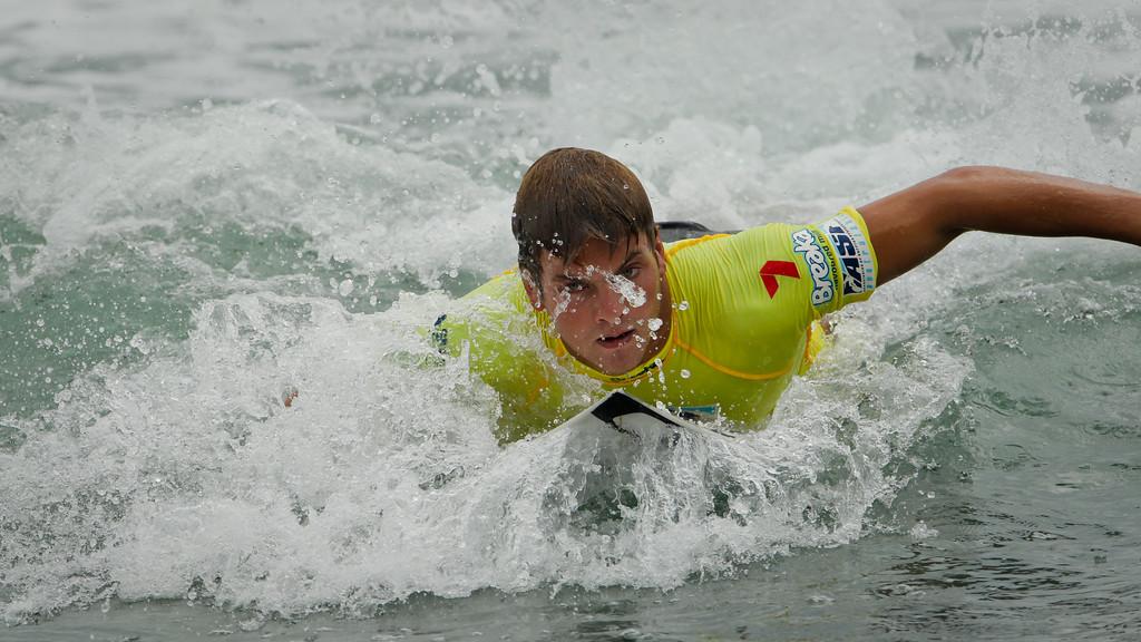 "Perth Standlick - Breaka Burleigh Surf Pro - Surfing; Burleigh Heads, Gold Coast, Queensland, Australia. ASP 4 Star World Tour Event. Saturday 11 February 2012. Photos by Des Thureson: <a href=""http://disci.smugmug.com"">http://disci.smugmug.com</a>"