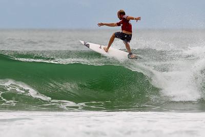 Mark Mathews - Breaka Burleigh Surf Pro - Surfing; Burleigh Heads, Gold Coast, Queensland, Australia. Wednesday 8 February 2012. Photos by Des Thureson: http://disci.smugmug.com