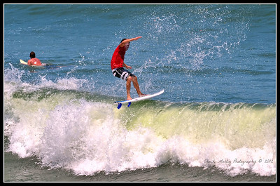 Afternoon at St. Augustine Beach. Six shot sequence.  #5