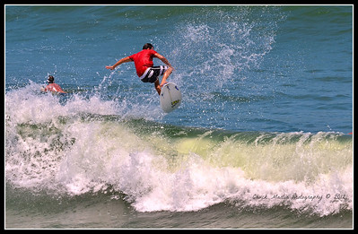 Afternoon at St. Augustine Beach. Six shot sequence.  #4