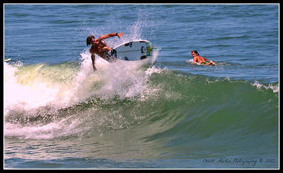 Afternoon at St. Augustine Beach. Four shot sequence, gettin' some air!!!  #2