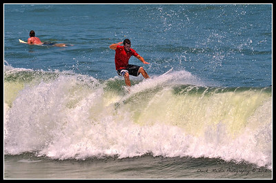 Afternoon at St. Augustine Beach. Six shot sequence.  #6