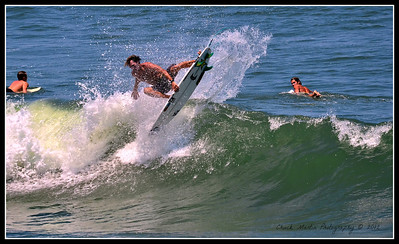 Afternoon at St. Augustine Beach. Four shot sequence, gettin' some air!!!  #3