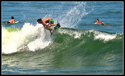 Afternoon at St. Augustine Beach. Four shot sequence, gettin' some air!!!  #4