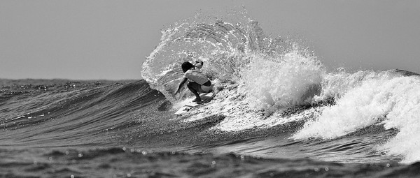 Alt Processing: Stark Raging Black Curve - Jayke Sharpe - 2011 Breaka Burleigh Surf Pro - Surfing - Burleigh Heads, Gold Coast. Saturday 19 February 2011. Photos by Des Thureson.