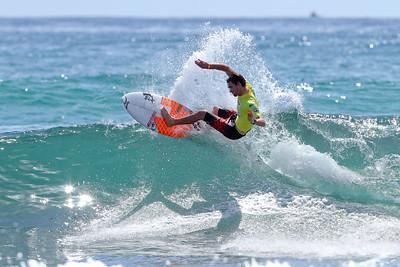 Brett Simpson - 2011 Breaka Burleigh Surf Pro - Surfing - Burleigh Heads, Gold Coast. Saturday 19 February 2011. Photos by Des Thureson.