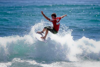 2011 Breaka Burleigh Surf Pro - Surfing - Burleigh Heads, Gold Coast. Saturday 19 February 2011. Photos by Des Thureson.
