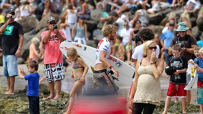 Kai Otton - 2011 Quiksilver Pro Surfing, Snapper Rocks Superbank, Gold Coast. Sunday 6 March 2011. Photos by Des Thureson.