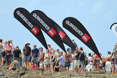 2011 Quiksilver Pro Surfing, Snapper Rocks Superbank, Gold Coast. Sunday 6 March 2011. Photos by Des Thureson.