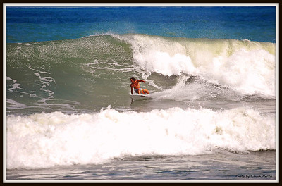 Wednesday 9/7 - Mid Afternoon Session - Four shot sequence of Mark Meinhart. Just south of the Pier.