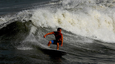Surfing Jax Pier 8.26.11 Photography by John Shippee Photography.