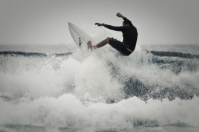Alternate Processing - Ultimate Fighter (Strong) - Surfing Burleigh Heads, 31 December 2011, Gold Coast, Queensland, Australia. Photos by Des Thureson: http://disci.smugmug.com