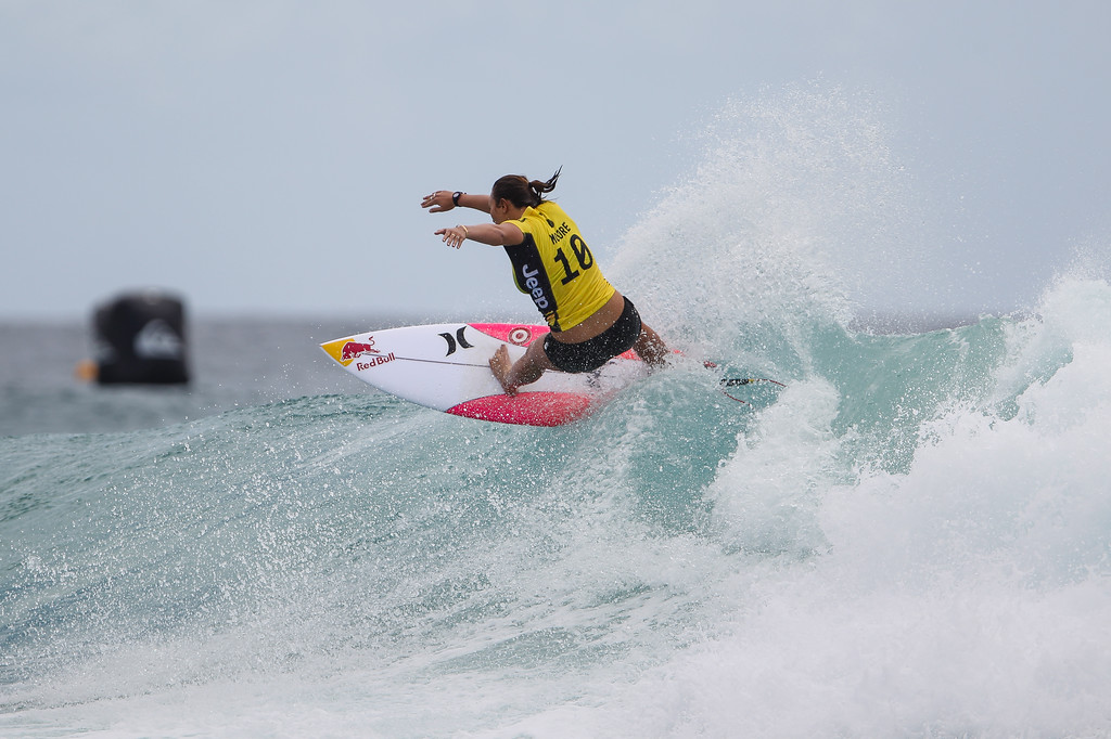 "Carissa Moore - Roxy Pro - 2016 Quiksilver Pro & 2015 Roxy Pro Surfing; Tuesday 15 March 2016; Snapper Rocks, Coolangatta, Gold Coast, Qld, AUS. Photos by Des Thureson - <a href=""http://disci.smugmug.com"">http://disci.smugmug.com</a>"