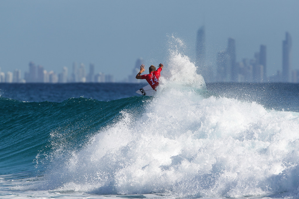 "Sebastian Zietz - Quiksilver Pro - 2016 Quiksilver Pro & 2016 Roxy Pro Surfing; Tuesday 15 March 2016; Snapper Rocks, Coolangatta, Gold Coast, Qld, AUS. Photos by Des Thureson - <a href=""http://disci.smugmug.com"">http://disci.smugmug.com</a>"