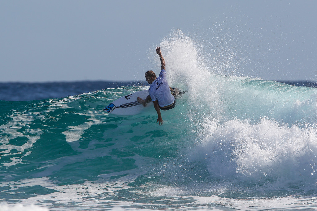 "Stuart Kennedy - Quiksilver Pro - 2016 Quiksilver Pro & 2016 Roxy Pro Surfing; Tuesday 15 March 2016; Snapper Rocks, Coolangatta, Gold Coast, Qld, AUS. Photos by Des Thureson - <a href=""http://disci.smugmug.com"">http://disci.smugmug.com</a>"