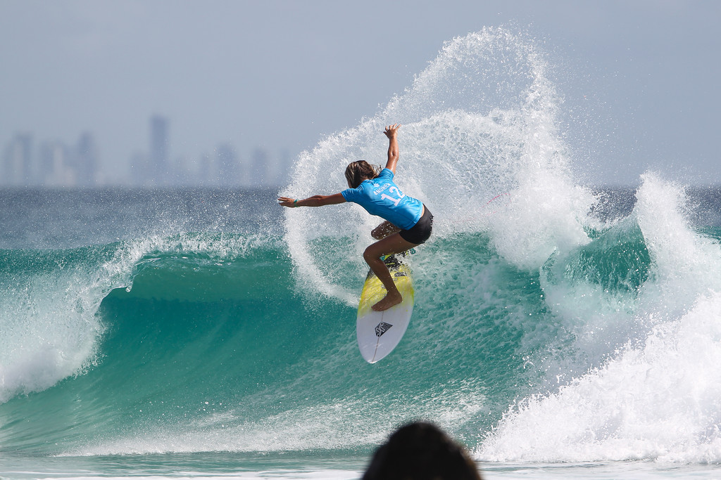 "Keely Andrew - Roxy Pro - 2016 Quiksilver Pro & 2015 Roxy Pro Surfing; Tuesday 15 March 2016; Snapper Rocks, Coolangatta, Gold Coast, Qld, AUS. Photos by Des Thureson - <a href=""http://disci.smugmug.com"">http://disci.smugmug.com</a>"