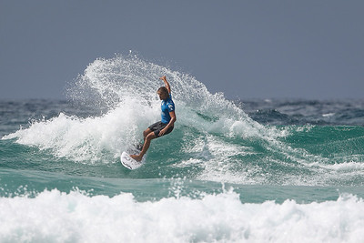 Ricardo Christie - 2015 Quiksilver Pro Surfing; Coolangatta, Gold Coast, Queensland, Australia; 11 March 2015. Photos by Des Thureson - disci.smugmug.com.  - Round 2 Heat 5