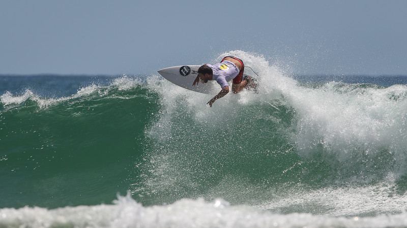 "Nick Vasicek - Scoot Burleigh Pro Presented by Vissla 2015 - Surfing; Burleigh Heads, Gold Coast, Queensland, Australia. World Surf League (WSL) QS 1000-rated men's and women's event. - Friday 30 January 2015. Photos by Des Thureson: <a href=""http://disci.smugmug.com"">http://disci.smugmug.com</a>"