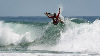McKenzie Bowden - Scoot Burleigh Pro Presented by Vissla 2015 - Surfing; Burleigh Heads, Gold Coast, Queensland, Australia. World Surf League (WSL) QS 1000-rated men's and women's event. - Friday 30 January 2015. Photos by Des Thureson: http://disci.smugmug.com