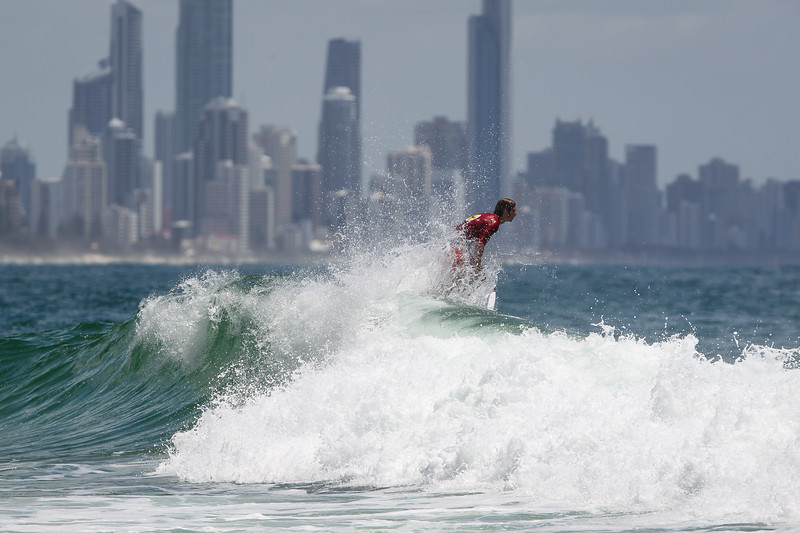 "Harrison Mann - Scoot Burleigh Pro Presented by Vissla 2015 - Surfing; Burleigh Heads, Gold Coast, Queensland, Australia. World Surf League (WSL) QS 1000-rated men's and women's event. - Friday 30 January 2015. Photos by Des Thureson: <a href=""http://disci.smugmug.com"">http://disci.smugmug.com</a>"