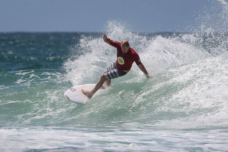 "Brent Symes - Scoot Burleigh Pro Presented by Vissla 2015 - Surfing; Burleigh Heads, Gold Coast, Queensland, Australia. World Surf League (WSL) QS 1000-rated men's and women's event. - Friday 30 January 2015. Photos by Des Thureson: <a href=""http://disci.smugmug.com"">http://disci.smugmug.com</a>"