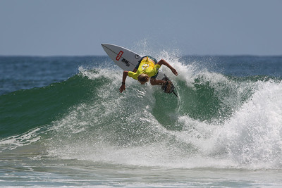 Tristan Forras - Scoot Burleigh Pro Presented by Vissla 2015 - Surfing; Burleigh Heads, Gold Coast, Queensland, Australia. World Surf League (WSL) QS 1000-rated men's and women's event. - Friday 30 January 2015. Photos by Des Thureson: http://disci.smugmug.com
