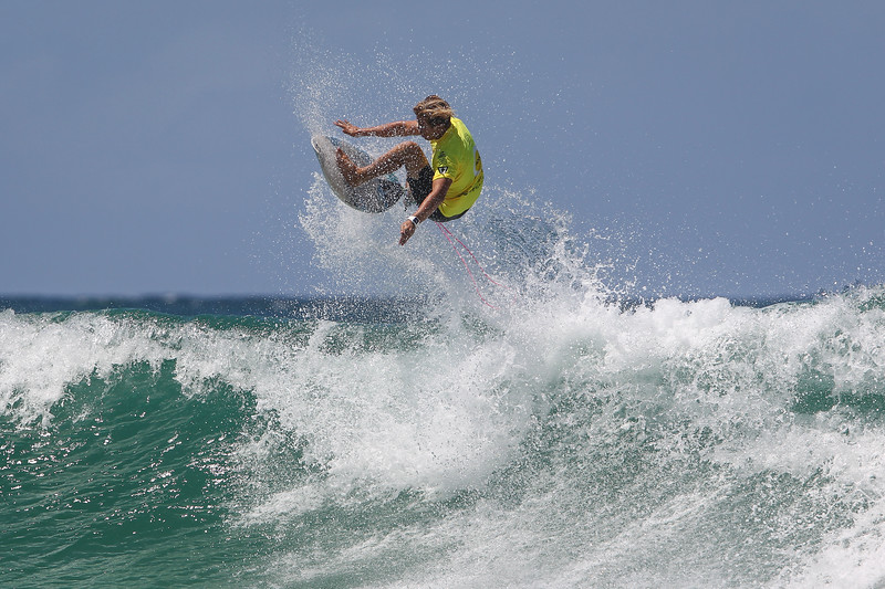 "Jack Duggan - Scoot Burleigh Pro Presented by Vissla 2015 - Surfing; Burleigh Heads, Gold Coast, Queensland, Australia. World Surf League (WSL) QS 1000-rated men's and women's event. - Friday 30 January 2015. Photos by Des Thureson: <a href=""http://disci.smugmug.com"">http://disci.smugmug.com</a>"