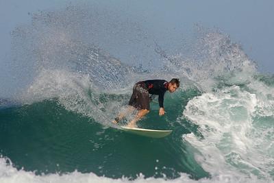 Surfing Duranbah, 7 January 2007