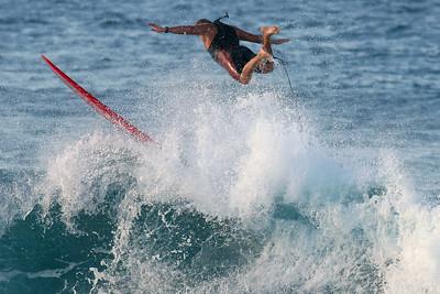 Surfing Duranbah, 27 May 2006