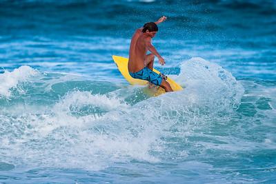 Afternoon Surf Photos - Sunrise Beach, near Noosa Heads, Sunshine Coast, Queensland, Australia; 2 November 2010