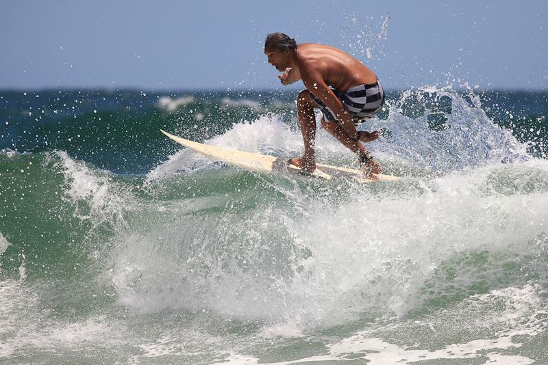 Looks a bit like Matthew McConaughey?? - Surfing Burleigh Heads, Gold Coast, Queensland, Australia; New Year's Eve 2009.